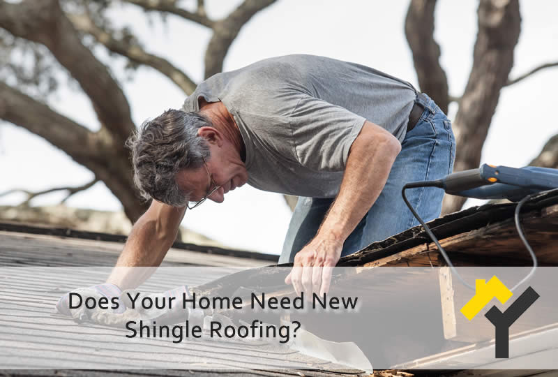 Does Your Home Need New Shingle Roofing