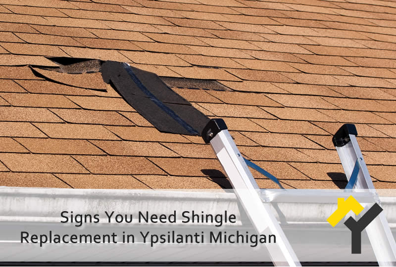 Signs You Need Shingle Replacement in Ypsilanti Michigan