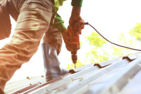 Roofing Repair on a Home in Canton Michigan