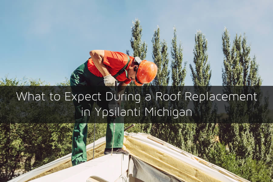 Roof Replacement in Ypsilanti Michigan