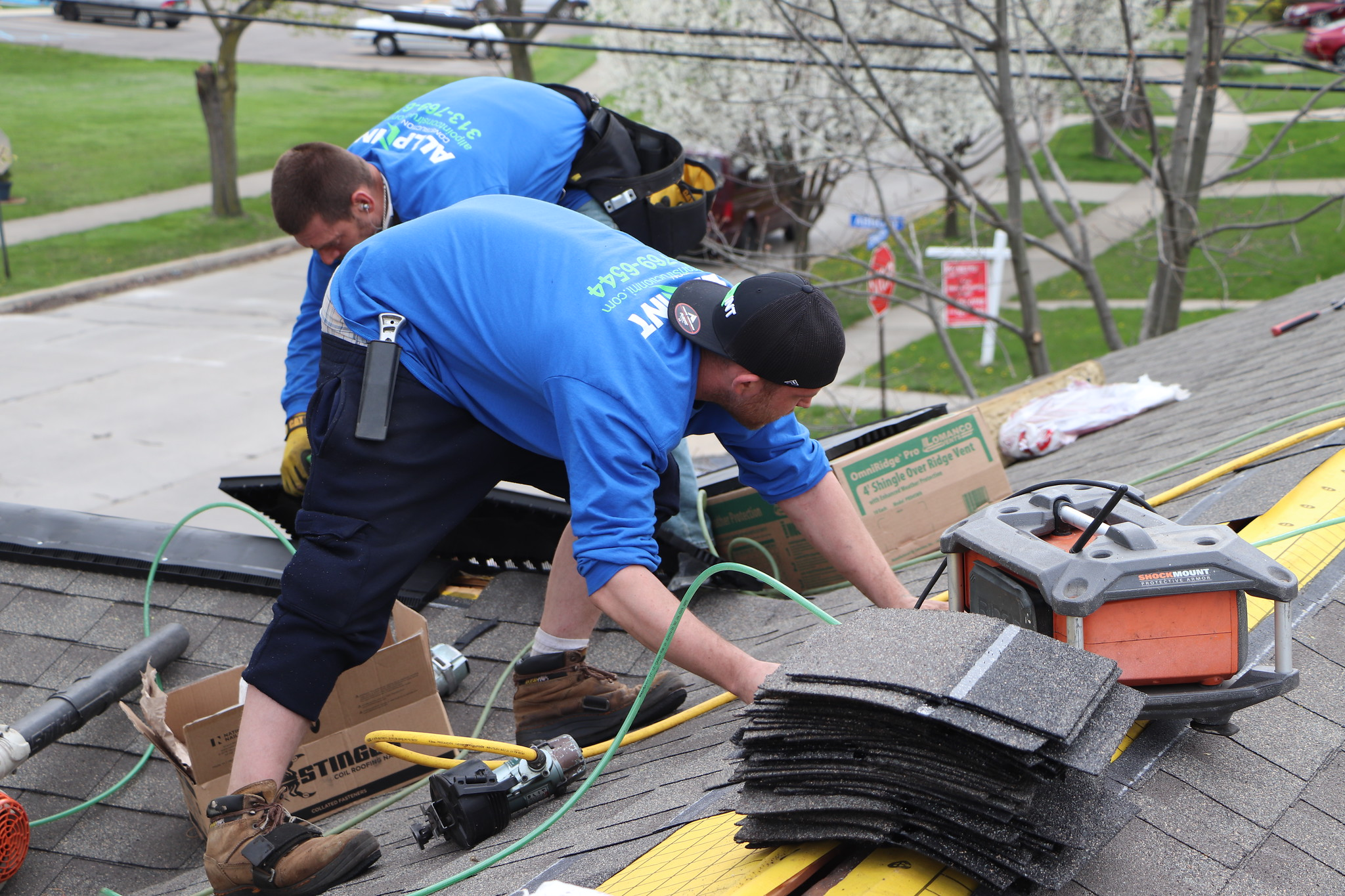 Use Ypsilanti Roofing Company for Roof Repair in Canton Michigan