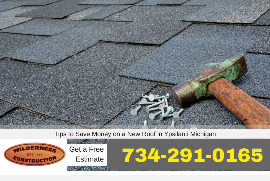 Tips to Save Money on a New Roof in Ypsilanti Michigan