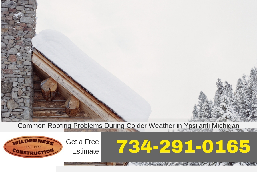 Common Roofing Problems During Colder Weather in Ypsilanti Michigan
