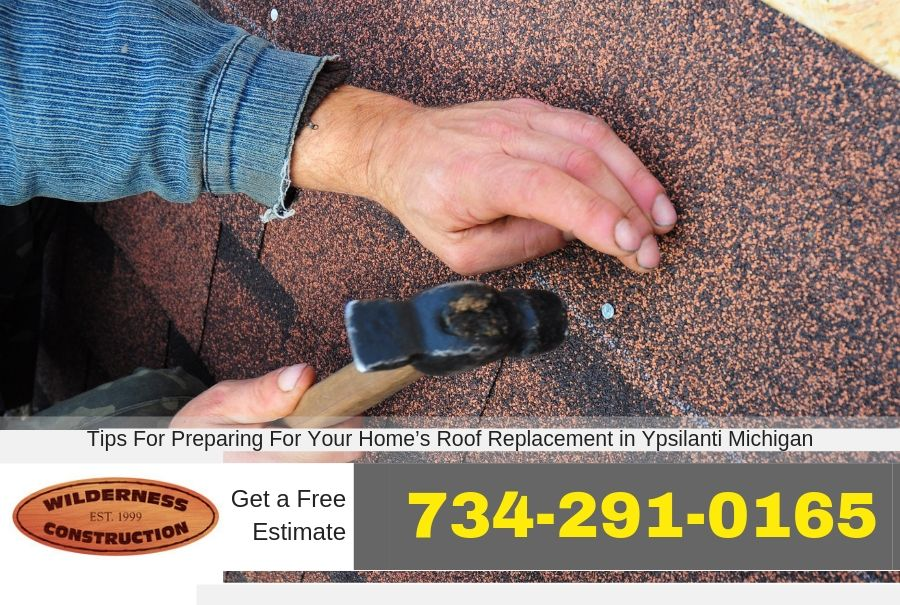 Tips For Preparing For Your Home's Roof Replacement in Ypsilanti Michigan