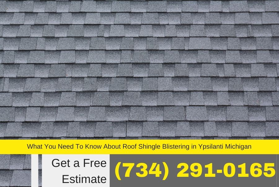 What You Need To Know About Roof Shingle Blistering in Ypsilanti Michigan