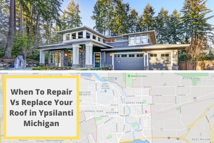 When To Repair Vs Replace Your Roof in Ypsilanti Michigan