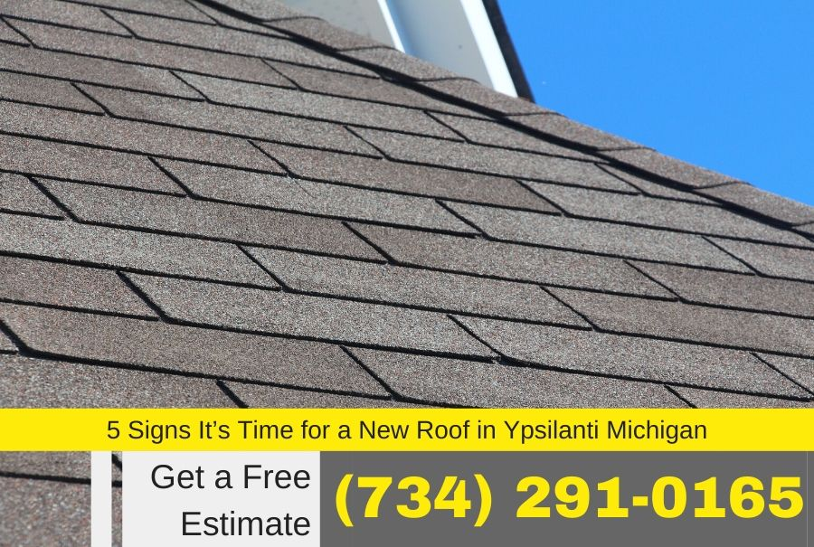 5 Signs It's Time for a New Roof in Ypsilanti Michigan