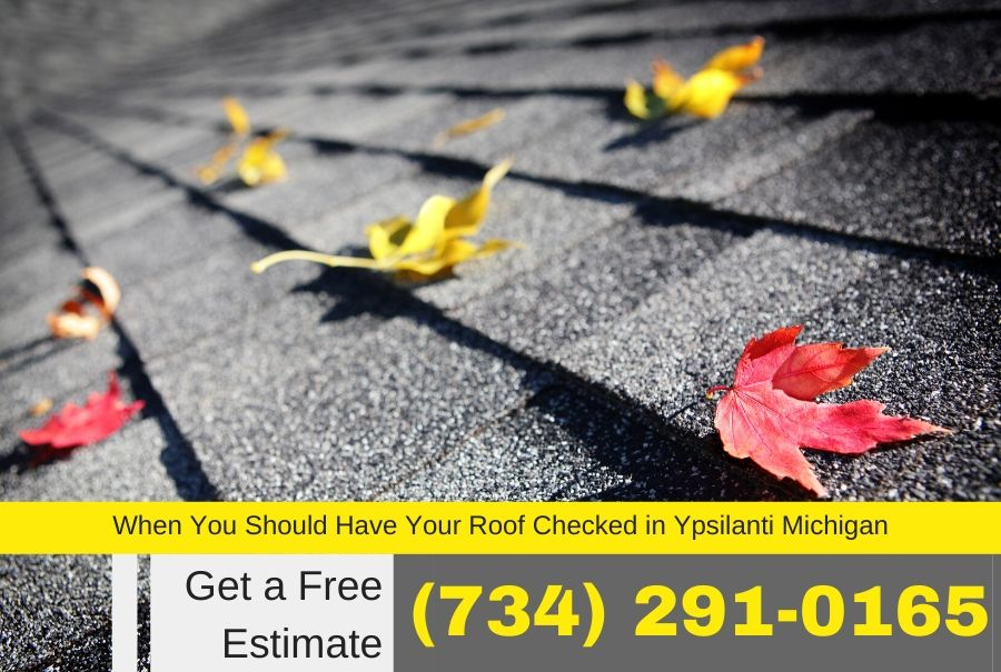 When You Should Have Your Roof Checked in Ypsilanti Michigan