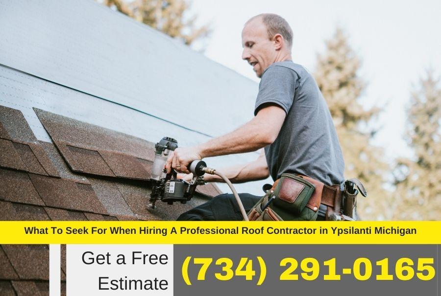 Roof Contractor in Ypsilanti MI