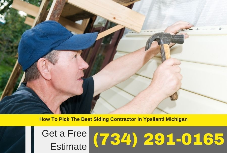 Siding Contractor in Ypsilanti MI
